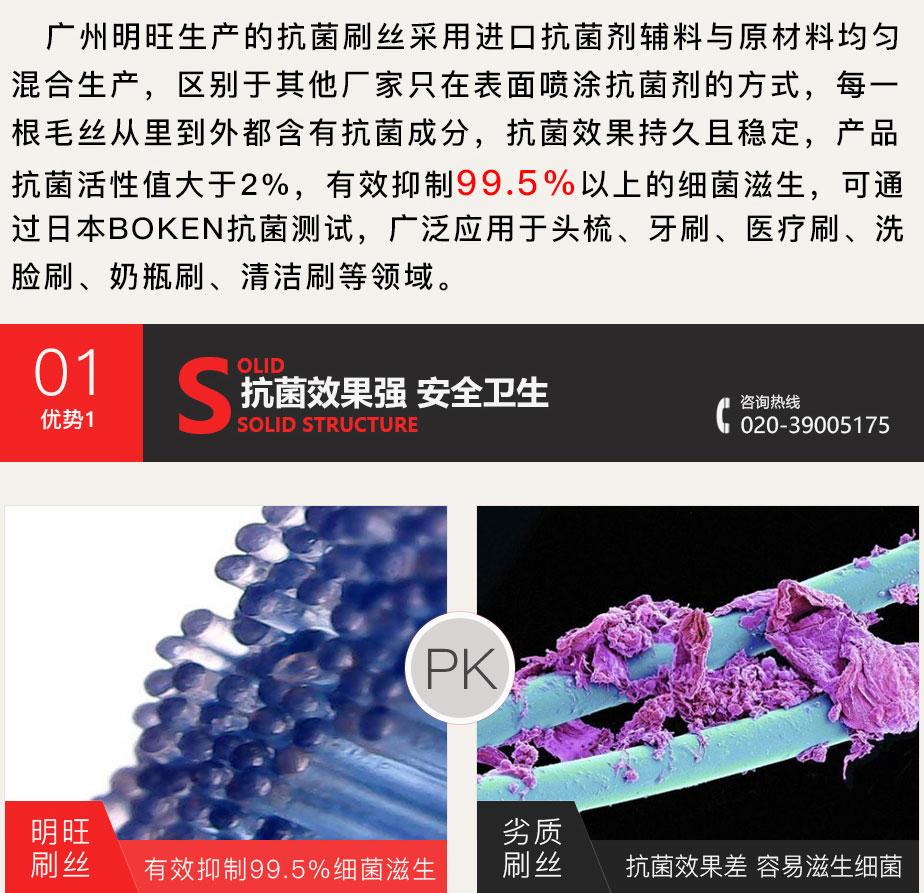 抗菌刷丝优势1